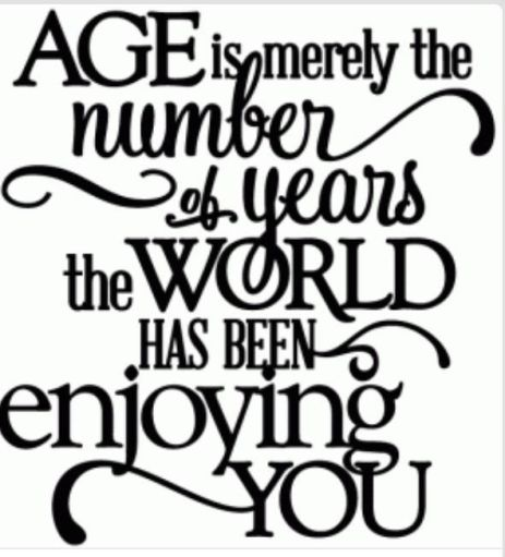 age is merely